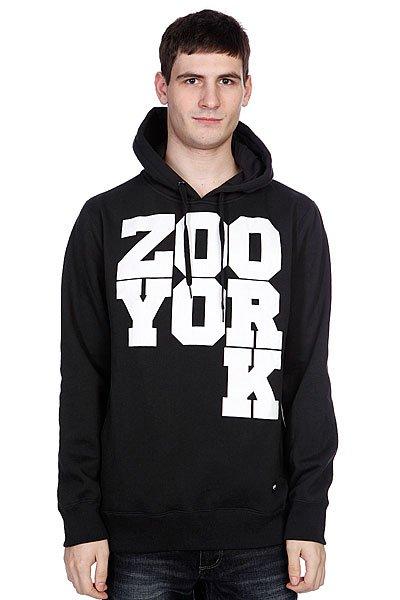 Толстовка Zoo York Drop K Mk2 Black<br><br>Цвет: черный<br>Тип: Толстовка классическая<br>Возраст: Взрослый<br>Пол: Мужской