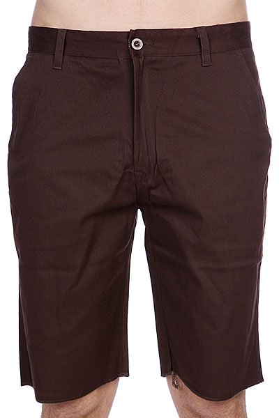 Шорты Enjoi Boo Khaki Chino Short Brown