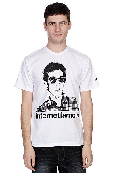 футболка-enjoi-internet-famous-premium-white