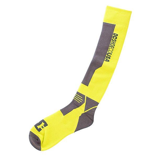 Носки высокие DC Apache 14 Sulphur Springs - Подарок<br><br>Цвет: серый,желтый<br>Тип: Носки высокие