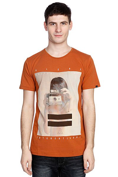 Футболка Globe Polaroid Girl Tee Ginger чай пуэр ] zhi yr taetea dayi pu erh 100