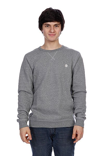 цена Свитшот Element Adams Grey Heather онлайн в 2017 году