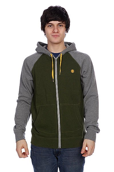 Толстовка Element Vermont Zh Grey Heather толстовка element filbert grey heather