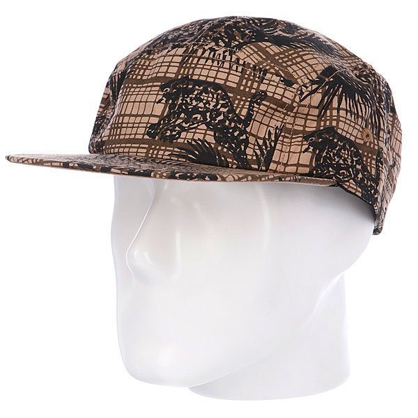 Бейсболка Stussy Wildcat Camp Cap Brown