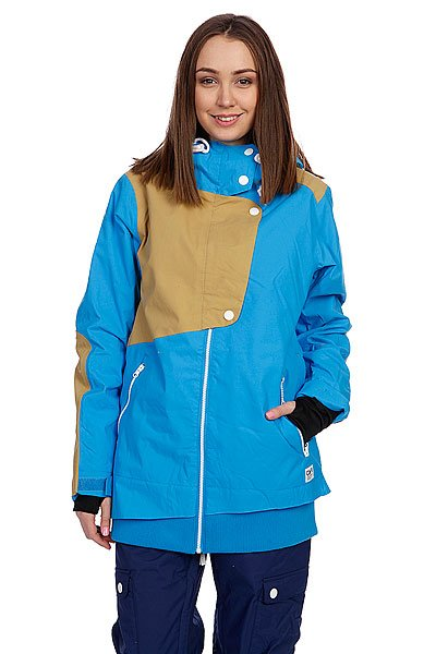 Куртка женская Colour Wear Poise Jacket Sky Blue Proskater.ru 9680.000