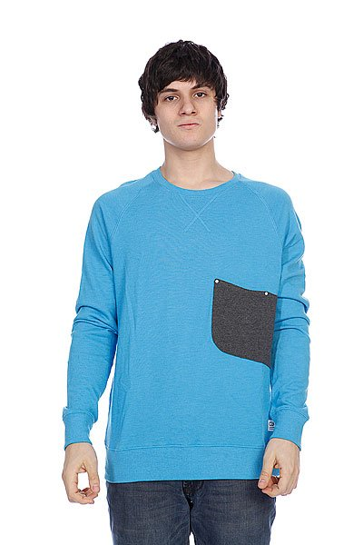 Свитер Colour Wear Cut Crew Loft Blue Melange Proskater.ru 3080.000