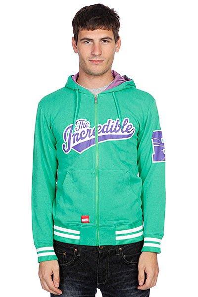 Толстовка Addict Hulk Zip Hoody Green