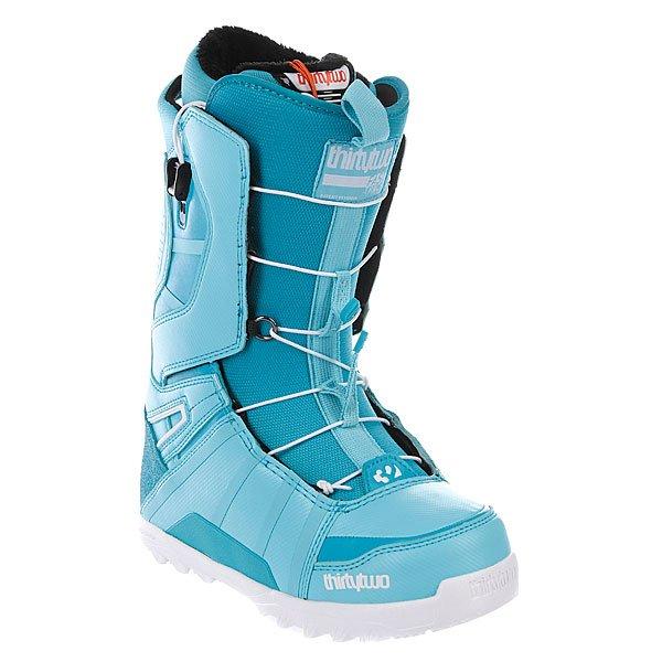 Ботинки для сноуборда женские Thirty Two Lashed Ft Ws 13 Blue Proskater.ru 13320.000