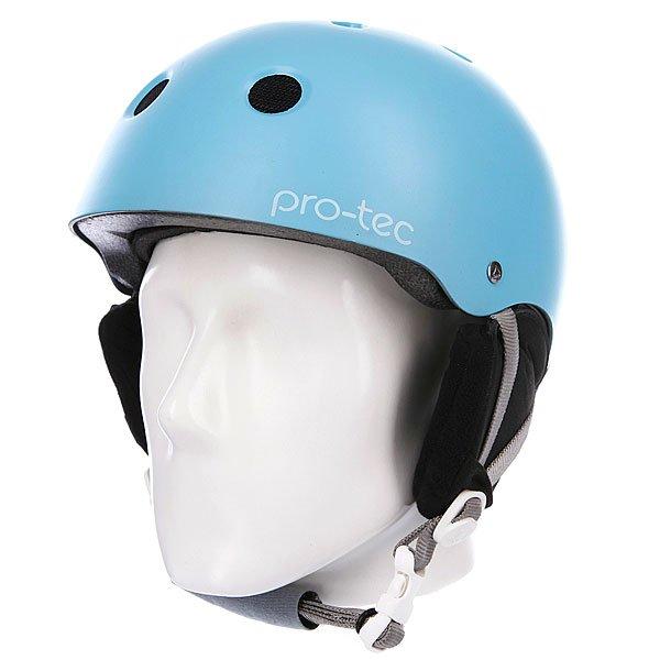 Шлем для сноуборда женский Pro-Tec Classic Snow Womens Satin Sky Blue Proskater.ru 3900.000