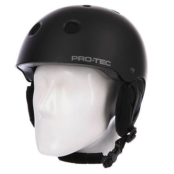 Шлем для сноуборда Pro-Tec Classic Snow Matte Black Proskater.ru 3900.000