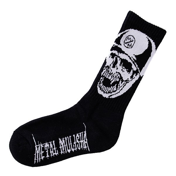 Носки средние Metal Mulisha Screamin Sock Black