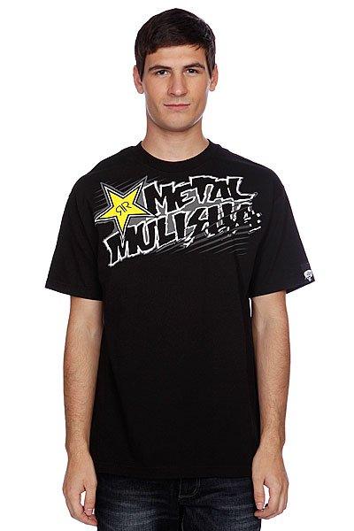 Футболка Metal Mulisha Rsbasics Tee Black<br><br>Цвет: черный<br>Тип: Футболка<br>Возраст: Взрослый<br>Пол: Мужской