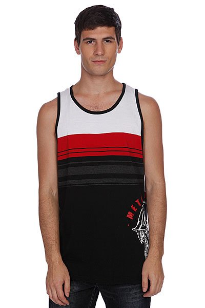 ����� Metal Mulisha Count Down Tank Black/Red