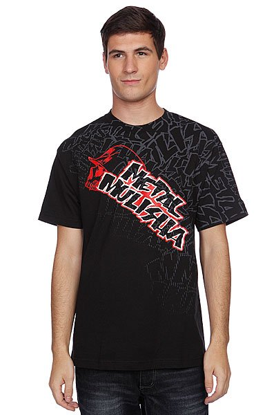 Футболка Metal Mulisha Trained Tee Black metal mulisha толстовка metal mulisha deegan comp fleece black