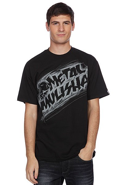 Футболка Metal Mulisha Damaged Tee Black
