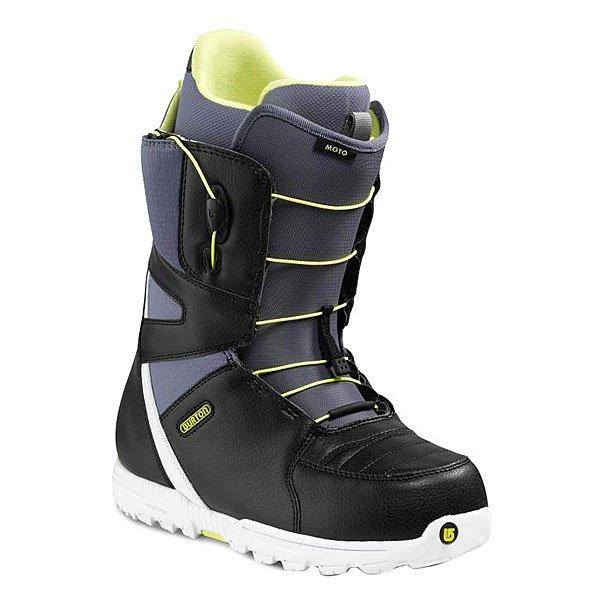 Ботинки для сноуборда Burton Moto True Black/Light Blue Proskater.ru 7379.000