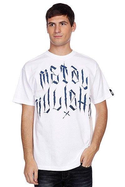 Футболка Metal Mulisha Solitary Tee White<br><br>Цвет: белый<br>Тип: Футболка<br>Возраст: Взрослый<br>Пол: Мужской