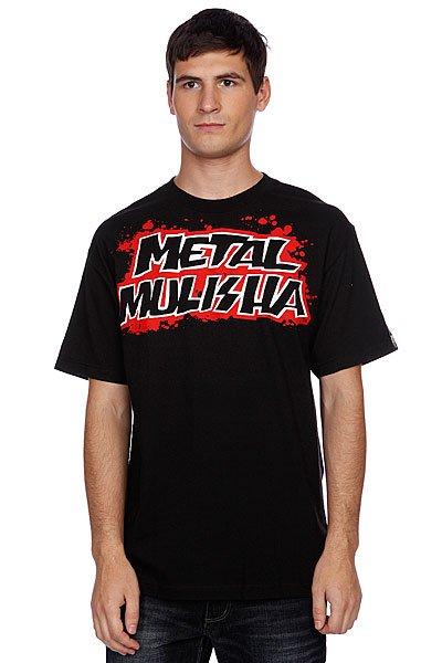 Футболка Metal Mulisha Blood Shed Tee Black<br><br>Цвет: черный<br>Тип: Футболка<br>Возраст: Взрослый<br>Пол: Мужской