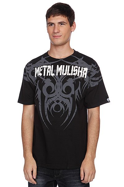Футболка Metal Mulisha Babalu Break Black metal mulisha футболка metal mulisha quartered black