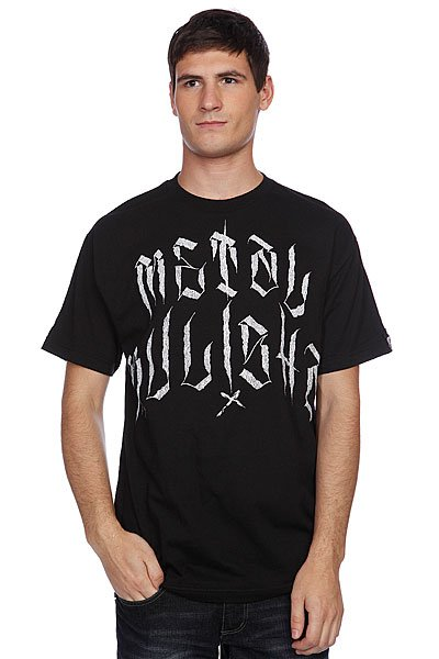 Футболка Metal Mulisha Solitary Tee Black майка metal mulisha novelty tank black