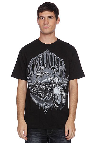 Футболка Metal Mulisha Dead Ride Black майка metal mulisha novelty tank black