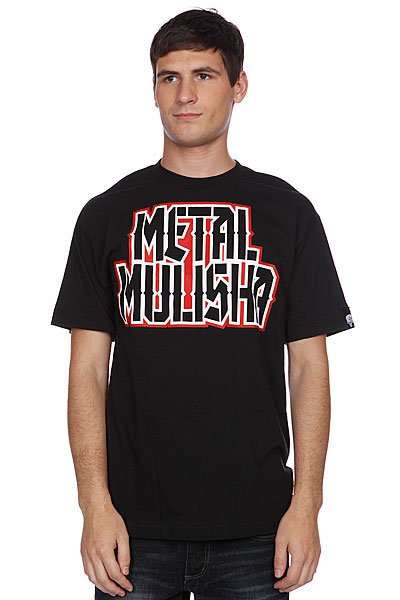 Футболка Metal Mulisha Challenger Black metal mulisha футболка metal mulisha quartered black