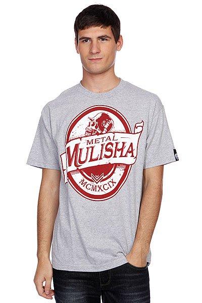 Футболка Metal Mulisha Premium Athletic Grey Heather<br><br>Цвет: серый<br>Тип: Футболка<br>Возраст: Взрослый<br>Пол: Мужской