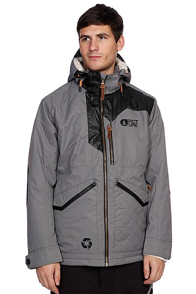 Куртка Picture Organic Wood Grey куртка женская picture organic bioceramic profile 2 jacket grey