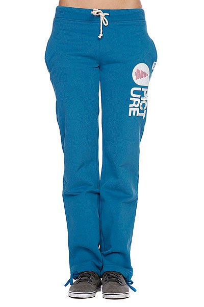 Штаны прямые женские Picture Organic Cocoon Women Pants Blue Petrol