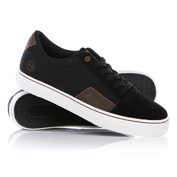 Кеды кроссовки Huf Southern Black/Cracked Brown Proskater.ru 4280.000