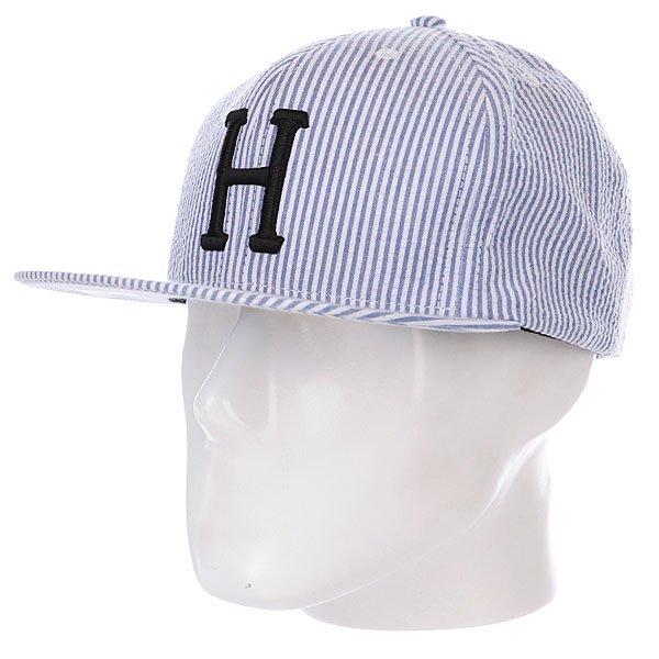 Бейсболка Huf Seersucker Classic H Snapback Royal бейсболка huf eden snapback royal