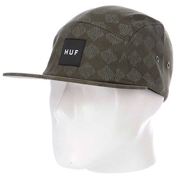 Бейсболка Huf Luxe Volley Olive