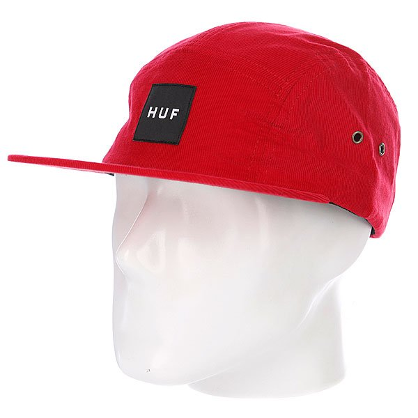 Бейсболка Huf Cord Box Volley Red