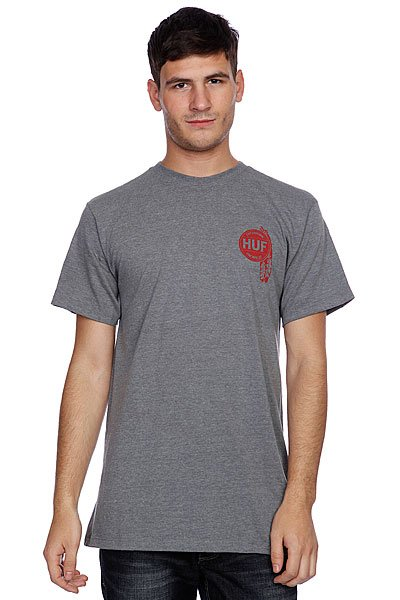 Футболка Huf Native Tee Gray Heather