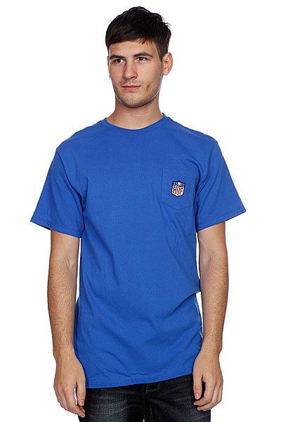 Футболка Huf Hail Mary Pocket Tee Royal huf футболка huf hail mary pocket tee royal