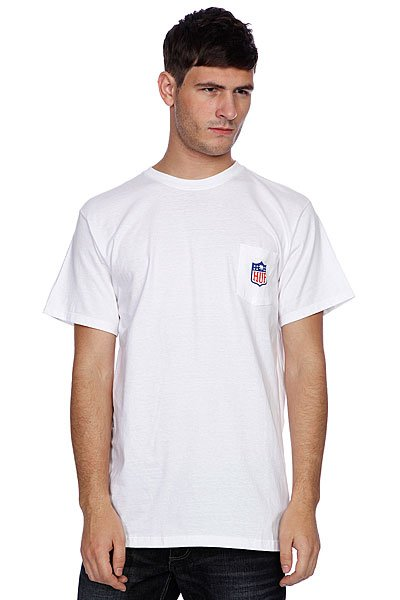 Футболка Huf Hail Mary Pocket Tee White huf футболка huf classic h pocket tee white