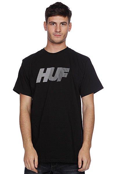 Футболка Huf 10K Tee Black<br><br>Цвет: черный<br>Тип: Футболка<br>Возраст: Взрослый<br>Пол: Мужской