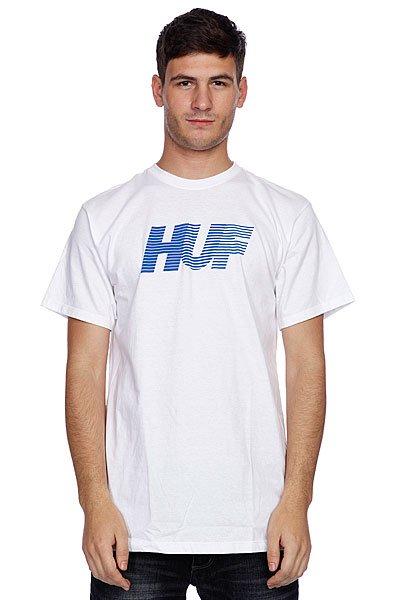 Футболка Huf 10K Tee White<br><br>Цвет: белый<br>Тип: Футболка<br>Возраст: Взрослый<br>Пол: Мужской