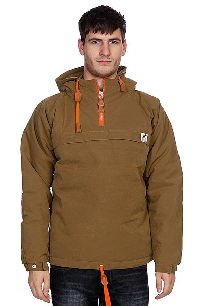 Анорак Fat Moose Sailor Anorak Camel/Orange fat moose ветровка fat moose модель 280200559