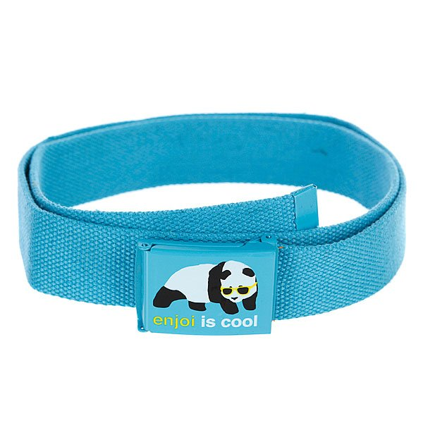 Ремень Enjoi Cool Web Belt Turquoise футболка enjoi headvetica turquoise