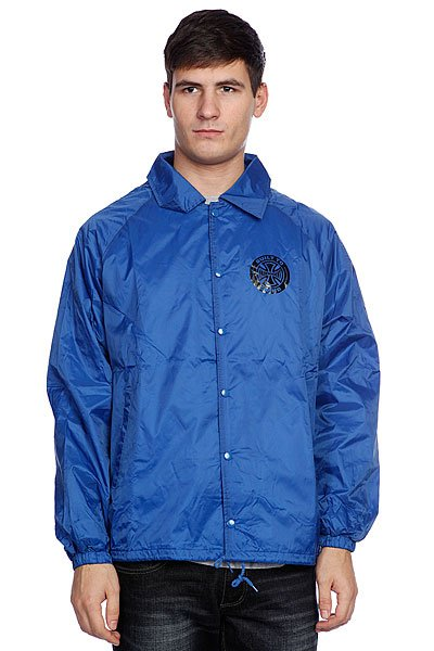 �������� Independent Axiom Coach Windbreaker Royal