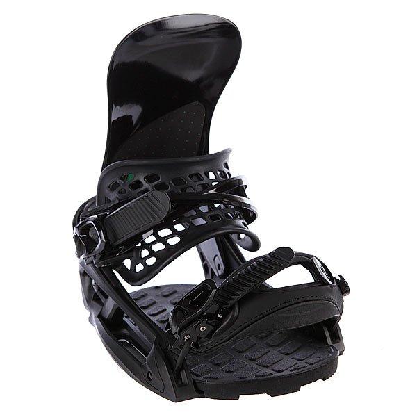 Крепления для сноуборда Burton Diode Est BlackПрямая и быстрая передача усилий от ваших ног сноуборду. Рекомендуется тем, кто очень уверенно чувствует себя на доске. Вы выйдете на новую орбиту. Очень лёгкий вес. Характеристики:     Изготовлены из высокопрочного ультралегкого противоударного алюминия. База двухкомпонентная, композит карбона и нейлона.Хайбэк анатомичный, ультралёгкий с технологией FLAD.Амортизационная подушка - ShredBED 3.0.Хайбек - однокомпонентный с новой технологией Heel Hammock™.Асимметричный верхний стреп.Легчайший кепстреп GETTAGRIP с окошком. Двухпозиционные (кепстреп и традиционное крепление нижнего стрепа сверху).Застежки из хромированного алюминия. Для продолжающих. Жесткость – 8 из 10.<br><br>Цвет: черный<br>Тип: Крепления для сноуборда<br>Возраст: Взрослый<br>Пол: Мужской