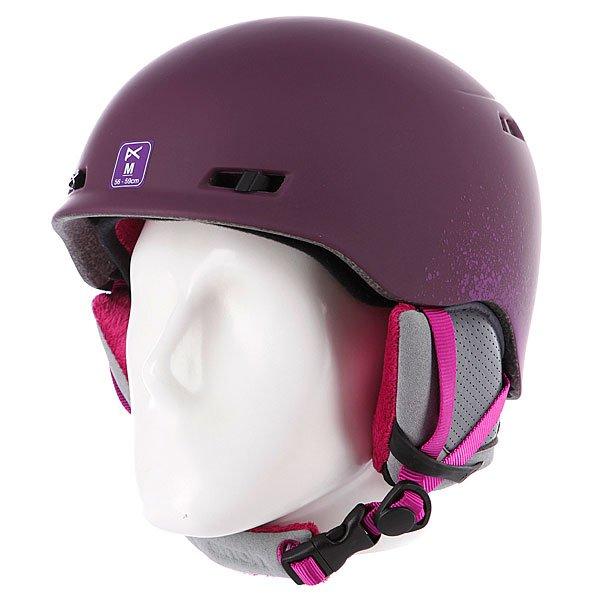 Шлем для сноуборда женский Anon Griffon Dark Pink
