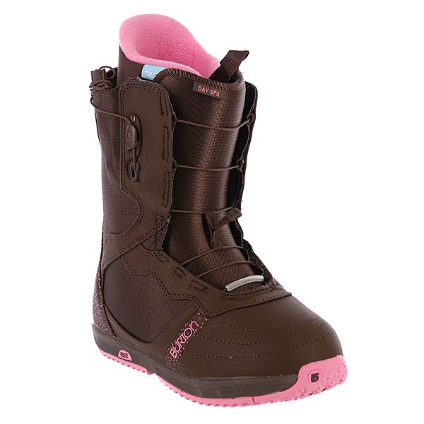 Ботинки для сноуборда женские Burton Day Spa Brown/Pink