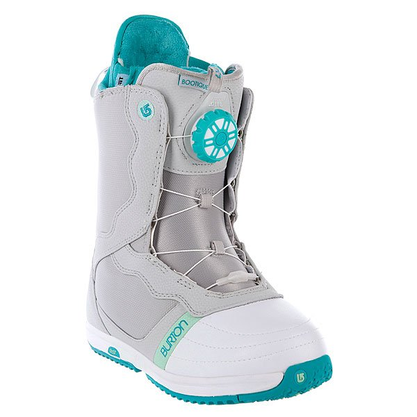Ботинки для сноуборда женские Burton Bootique Gray/White/Teal Proskater.ru 8679.000
