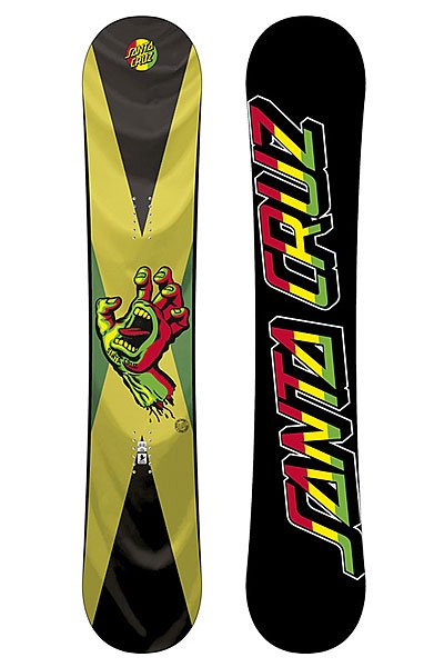 Сноуборд Santa Cruz Screaming Hand Rasta 157