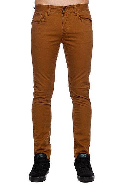 Штаны прямые Globe Goodstock Skinny Jean Camel<br><br>Цвет: коричневый<br>Тип: Штаны прямые<br>Возраст: Взрослый<br>Пол: Мужской