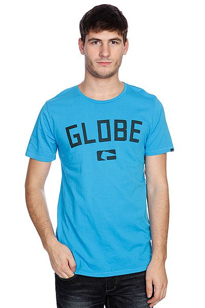 футболка-globe-know-money-tee-neon-blue