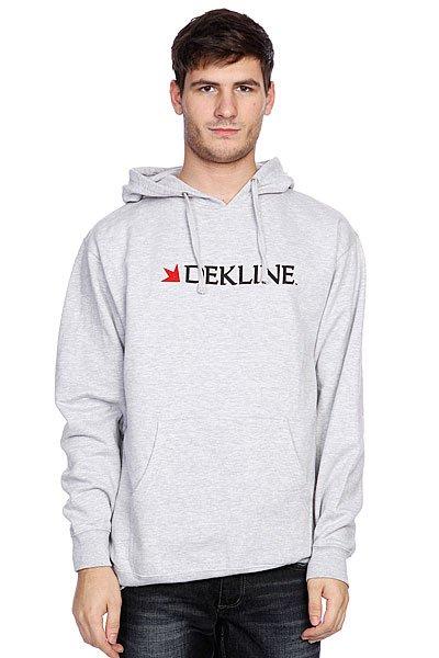 Кенгуру Dekline Dk Bar Logo Hood Heat Grey<br><br>Цвет: серый<br>Тип: Толстовка кенгуру<br>Возраст: Взрослый<br>Пол: Мужской
