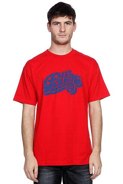 Футболка Fallen Hustle S/s Red/Royal<br><br>Цвет: красный<br>Тип: Футболка<br>Возраст: Взрослый<br>Пол: Мужской
